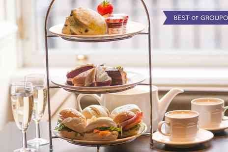 Hilton Grosvenor Edinburgh - Afternoon Tea for Two with Optional Prosecco - Save 0%