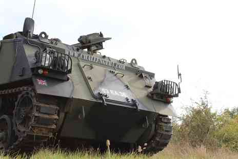 Challenger - Tank Driving and Amphibious Passenger experience - Save 0%