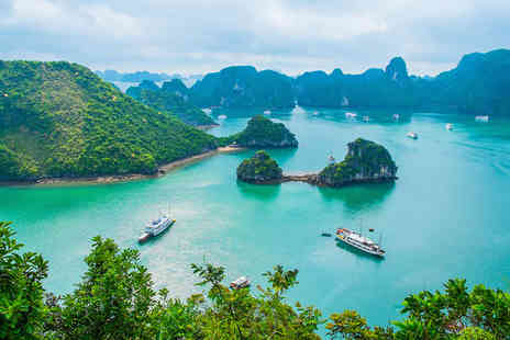 Throughout Vietnam Tour - Four Star 2 nights Stay in a Lotus Deluxe Room - Save 0%