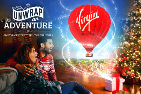 Virgin Balloon Flights - Anytime Plus hot air balloon experience with Champagne for one or two choose from over 100 UK locations - Save 50%
