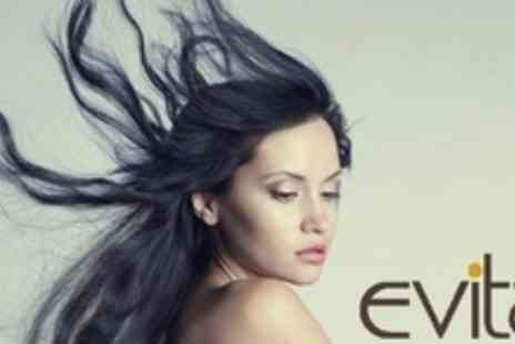 Evita Aesthetic & Beauty Centre - Wash, Cut, and Blow Dry Finish Plus Conditioning Treatment - Save 62%