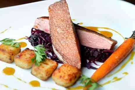 The Granary Hotel - Award Winning Set Menu Meal for 2 - Save 44%