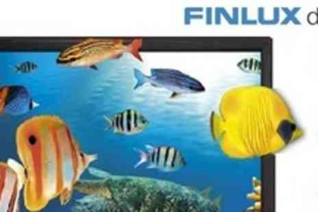 "Finlux Direct - 32"" LED 3DTV and Four Pairs of 3D Glasses Plus Wall Mounting Bracket or Plus Two Year Warranty - Save 50%"