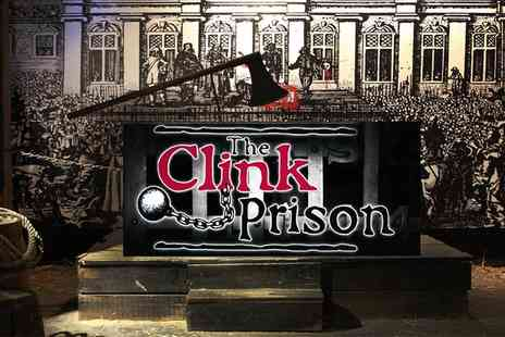 Clink Prison - The Clink Prison Museum Entry for Two on 24 November To 7 January - Save 50%
