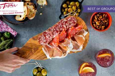 La Tasca - £50 to Spend on Tapas and Drinks - Save 50%