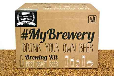 Karpe Deal - My Brewery Brew Your Own Pale Ale Kit With Free Delivery - Save 30%