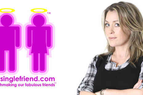 mysinglefriend.com - 50% off a subscription to Sarah Beeny's mysinglefriend.com - Save 50%