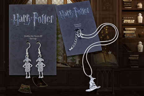 Aspire Fine Jewellery - Pair of Harry Potter earrings, necklace or both choose from Dobby - Save 63%