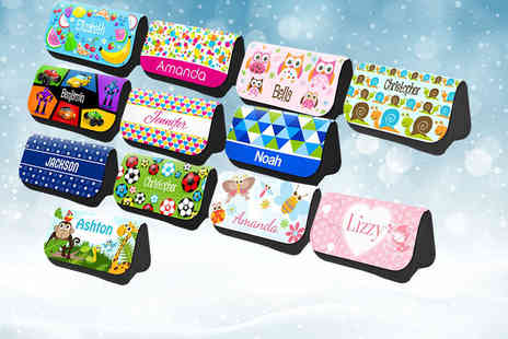Eastmon Online - Personalised pencil case choose from 12 designs - Save 60%