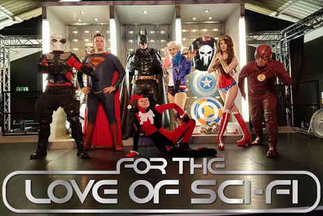 For The Love of Sci Fi - Entry ticket to the For The Love of Sci Fi Convention at Manchester on 4th December 2016 - Save 50%