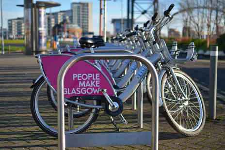 Nextbike - Three months unlimited Nextbike hire in Glasgow, Stirling and Bath - Save 0%