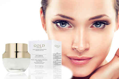 Gold Serums - Pure anti ageing Retinol eye serum - Save 91%