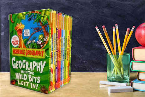 Price Cut Books - Horrible Geography 12 book box set - Save 81%