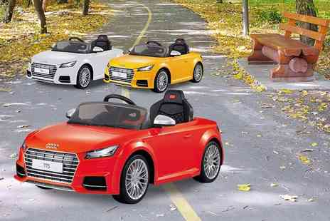 ViVo Technologies - Audi TT toy electric car choose from three colours - Save 70%