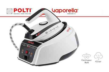 Polti - Vaporella Forever 650 steam iron - Save 58%