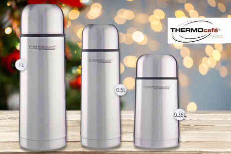 Partikle - 0.35L, 0.5L or 1L Thermos ThermoCafe flask - Save 60%