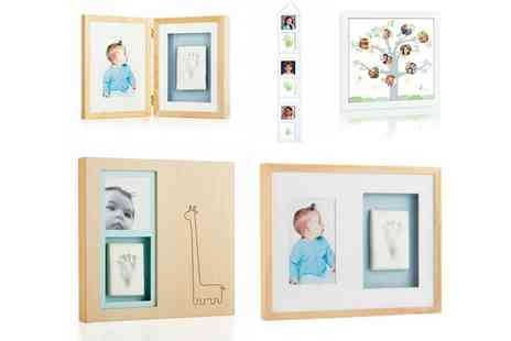 Groupon Goods Global GmbH - Tiny Ideas or Pearhead Baby and Family Photo Frames - Save 74%
