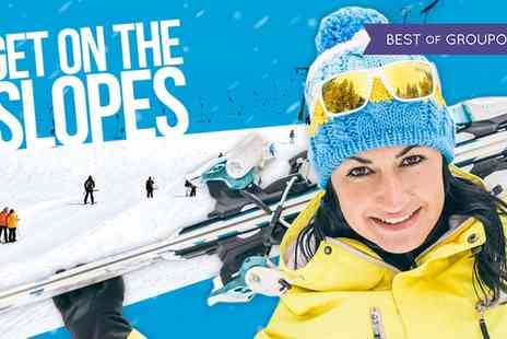 Chill Factore - One Hour Slope Lift Pass for One or Two - Save 44%