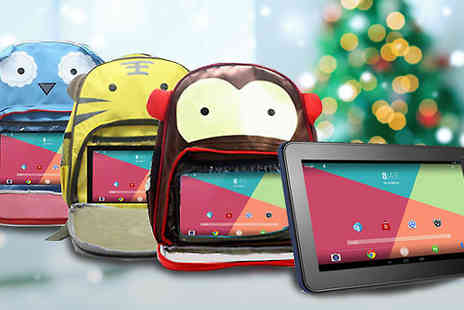 J & Y Ltd - Kids 7 Inch Tablet and Backpack Bundle Three Designs - Save 82%