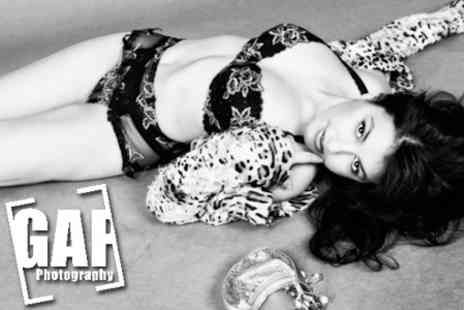 Gap Photography - Fashion, Boudoir or Commercial Photo Shoot Package,Including Make-Up and Hair for £20 - Save 89%
