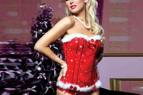Groupon Goods Global GmbH - Seven Til Midnight Christmas Lingerie - Save 0%