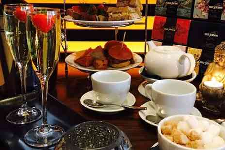 Solo Kitchen + Bar - Fusion Afternoon Tea for Two with Optional Glass of Prosecco for Each - Save 44%