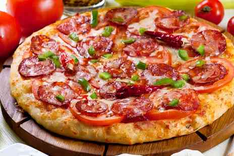 The Brasserie Italiano - Pizza or Pasta Meal for Up to Six - Save 60%