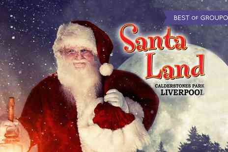 Calderstones Park - Santa Land, Entry for One Adult and One Child or Family of Four on 21 November to 23 December - Save 26%