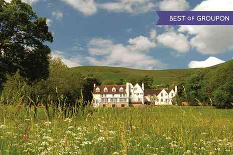Losehill House Hotel & Spa - Two Course Lunch and 25 or 60 Minute Treatment - Save 35%