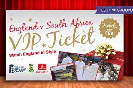 Lancashire County Cricket Club - England v South Africa Investec Test Match Premium Tickets, Emirates Old Trafford on 5 To 7 August - Save 0%