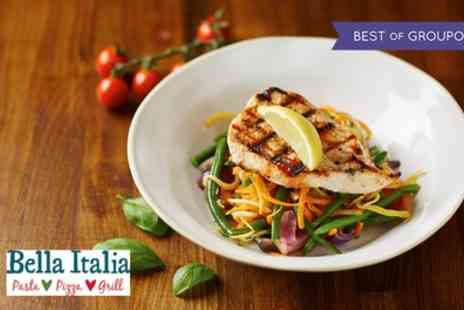 Bella Italia - Two Course Italian Meal for Two or Four - Save 57%