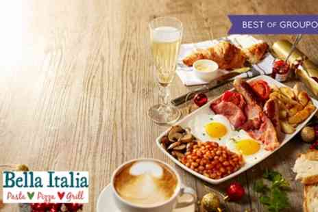 Bella Italia - Prosecco Brunch for One or Two - Save 55%