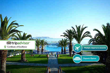 ClearSky Holidays - Three night all inclusive Crete, Greece stay with flights - Save 25%