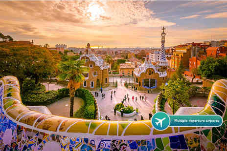Tour Center - Two or three night 4 Star Barcelona break and flights - Save 23%