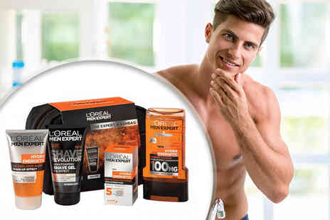 Orion GB - Five piece L Oreal Men Expert gift set and washbag - Save 63%