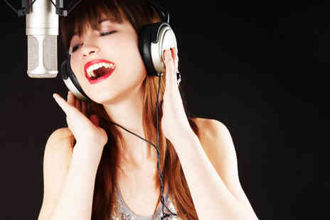 River Studios - Pop star recording party for four aspiring songsters - Save 60%