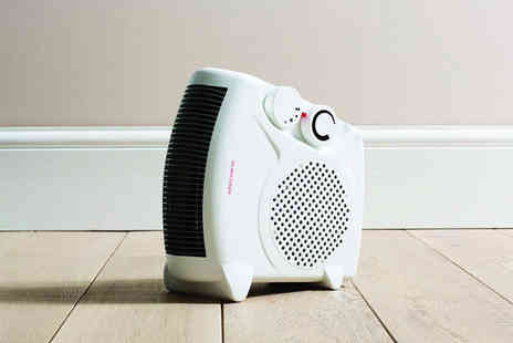 Partikle Ltd - 2kW compact electric heater in a choice of two styles - Save 67%