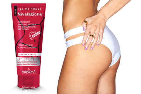 Althea - 250ml tube of Nivelazione thermo active cellulite serum - Save 77%