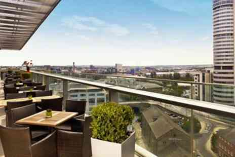 Doubletree by Hilton - Afternoon Tea, Cocktails & Leeds City Views for 2 - Save 37%