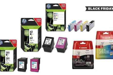 Raion - HP, Canon or Kodak Ink Cartridges With Free Delivery - Save 0%