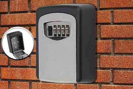 ViVo Technologies - Outdoor wall mounted key safe box dont skimp on security - Save 55%