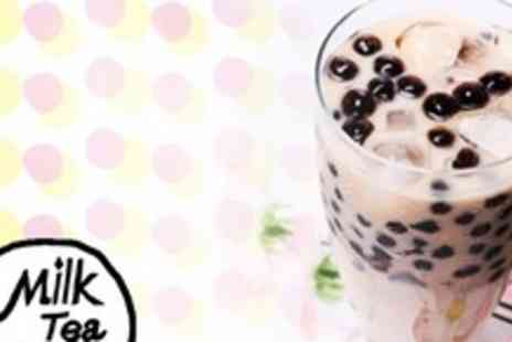 Milk Tea and Pearl - Two Bubble Tea Drinks - Save 50%