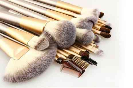 Groupon Goods Global GmbH - 12 or 24 Champagne Brushes from £9.98 - Save 67%