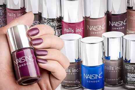 Groupon Goods Global GmbH - Four, Six or Eight Nails Inc Nail Polishes - Save 77%