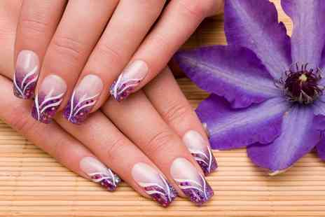 Be Beautifully You - Choice of Gel Polish with Sculpted Art or Acrylic Nail Extensions - Save 57%
