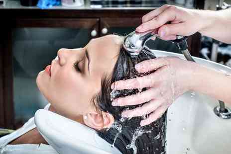 Locks Retreat Day Spa - Wash and Blow Dry with Optional Cut - Save 0%