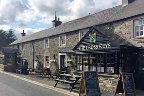 The Cross Keys Inn - One or two Nights for Two with Breakfast Option for Tea or Coffee and Cake or Dinner - Save 0%