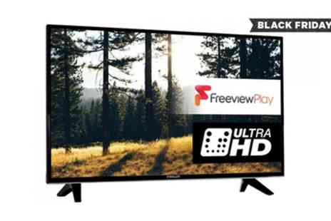Groupon Goods Global GmbH - Finlux 43 Inch 4K Ultra HD Freeview HD LED Smart TV With Free Delivery - Save 46%