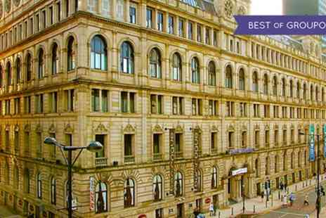 Britannia Hotel Manchester - One Night Stay for Two with Breakfast; with Option for Dinner and Bottle of Wine - Save 0%