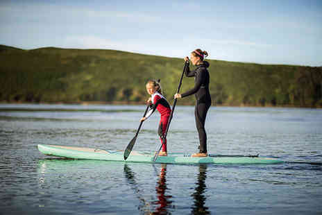 D&D Adventures - Intro to paddle boarding for two - Save 52%